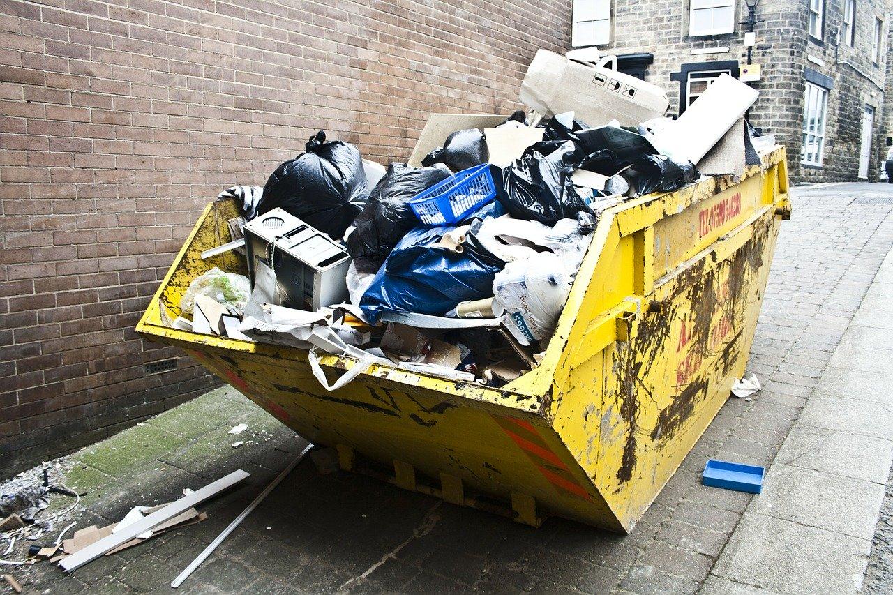 Helemaal eco wonen met een afvalbak huren!